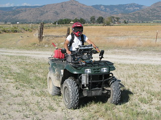 Noah Athens on an ATV | by Surprise Valley UAS