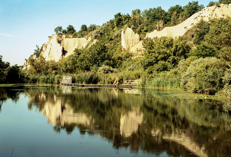 Reflected Bluffs_