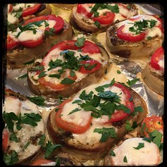 #Eggplant #Pesto #Homemade #CucinaDelloZio - garish w/parsley