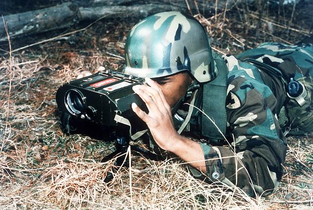 AN/GVS-5 laser rangefinder