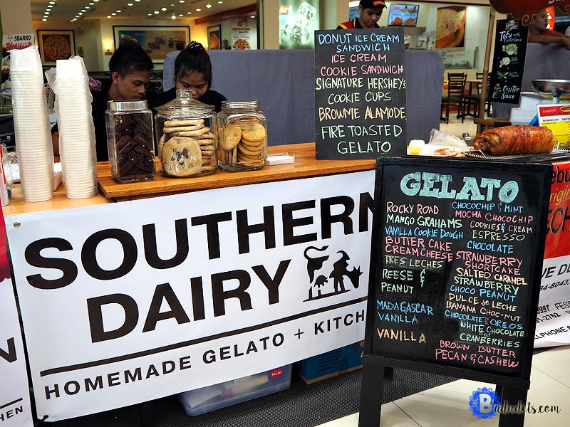 southern dairy gelato at sm hypermarket