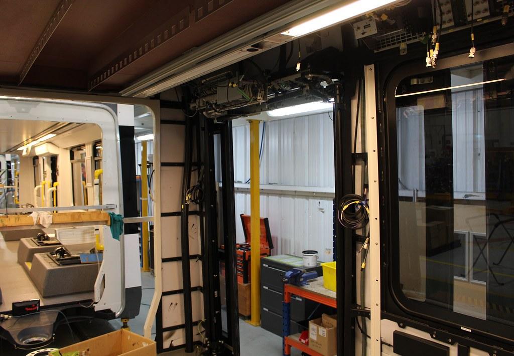 E-class tram under construction