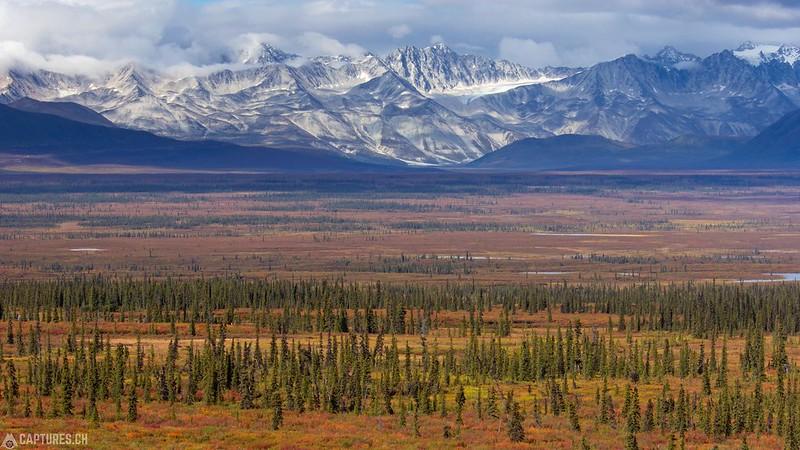 Alaska Range - Denali Highway