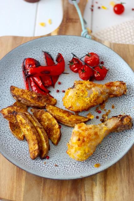 pollo cujiente al horno