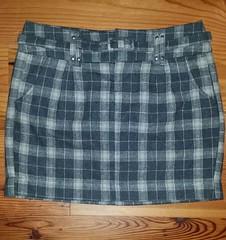 Smart Set Plaid Skirt