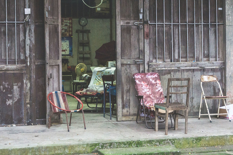 Sungai Lembing, Pahang - chairs