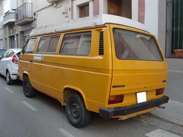 VW BUS T3, 1983