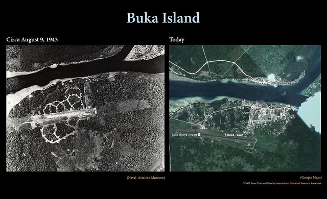 Buka then and now