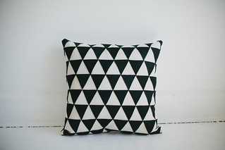 DIY geometric pillow | by Vanilla and lace