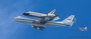 Space Shuttle Endeavour- Final Flight LA Fly Over | by Joshua Gunther