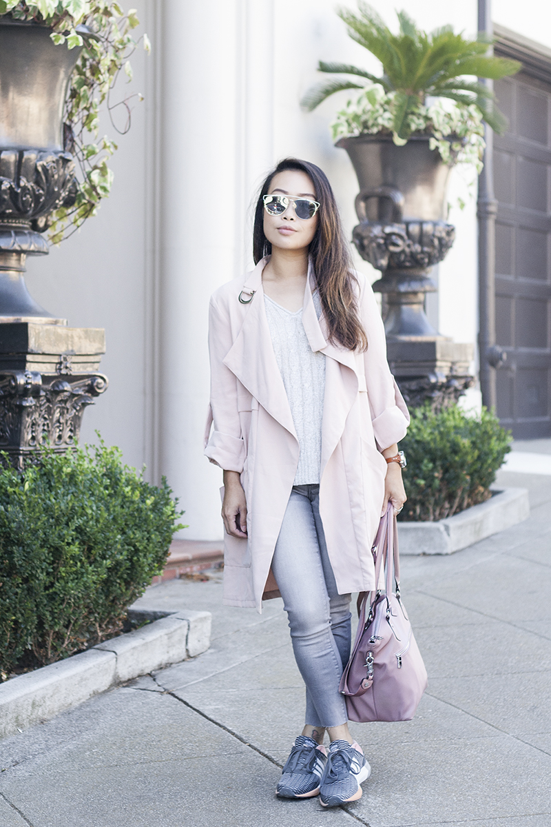 05sporty-chic-blush-pink-trench-denim-adidas-sneakers-style-fashion