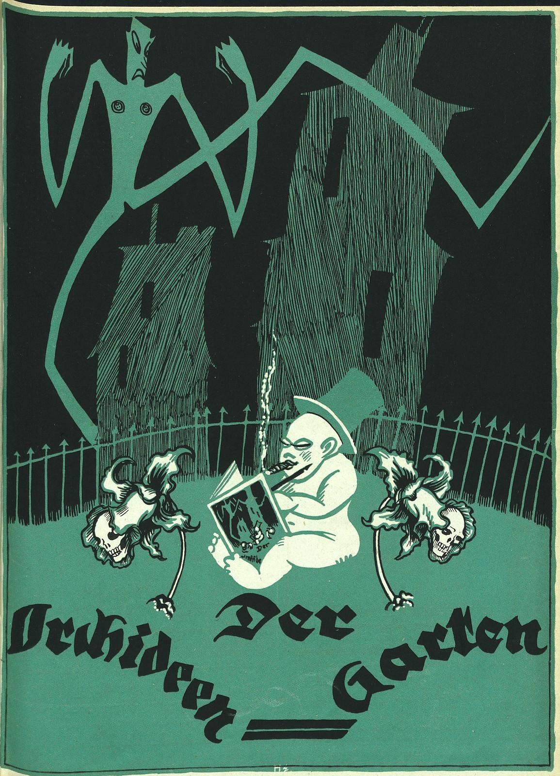 Der Orchideengarten - 1919 (Cover 7)