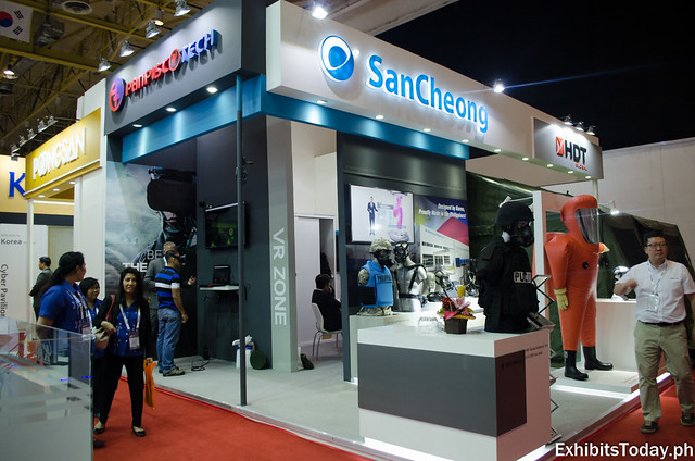 Sancheong Exhibit Booth