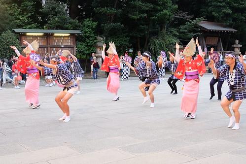 Awa odori dance