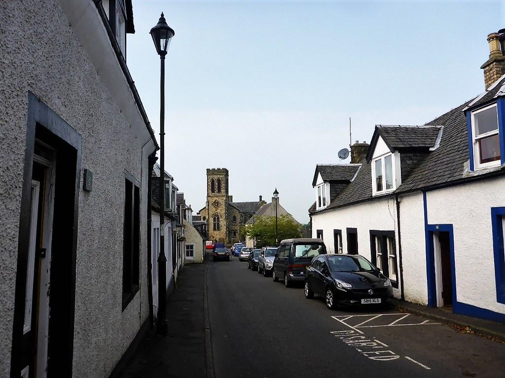 Main Street, Dunlop, Ayrshire, Scotland