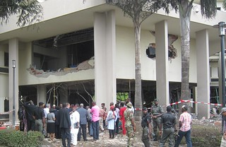 The bombing of the U.N. building in Nigeria's capital, Abuja, claimed 23 lives and wounded 81 people on Aug. 26. Credit: Chris Ewokor/IPS | by IPS Inter Press Service