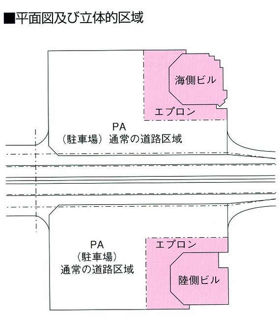 阪神高速湾岸線泉大津PAとホテルきららりぞーと関空 (1)