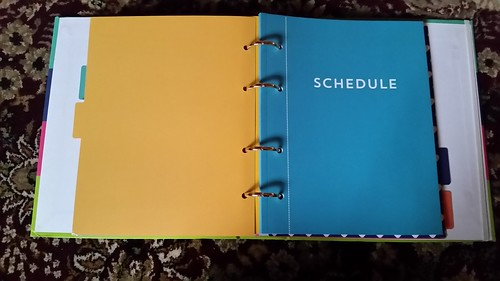 Recollections Planner Schedule Booklet
