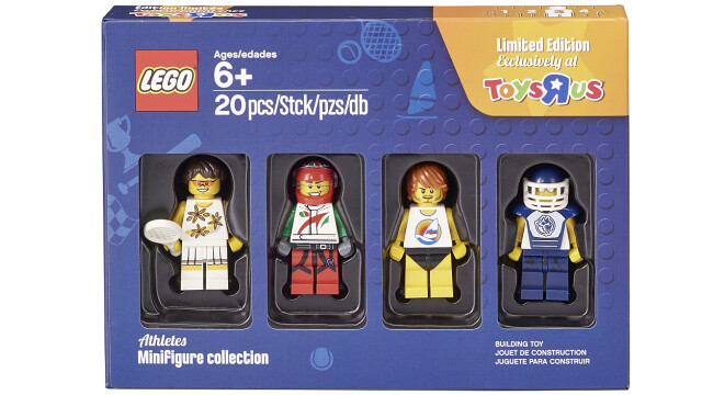 LEGO Minifigure Collection Toys R Us - Athletes