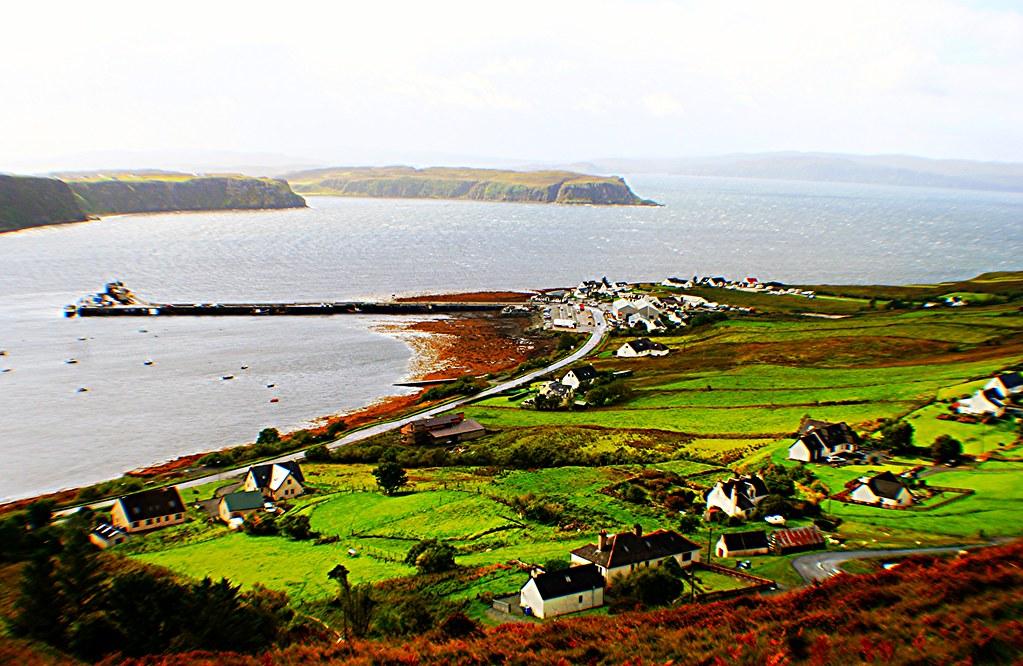 Uig Harbour, Isle of Skye, Scotland.
