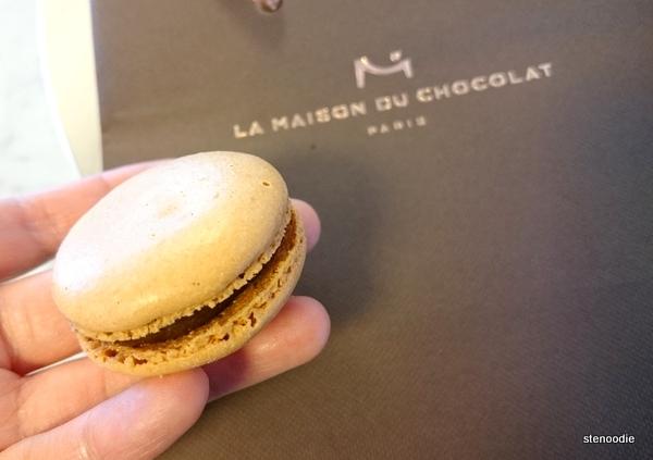 La Maison du Chocolat coffee macaron