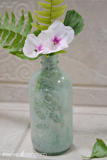 Bubble Painted Glass Vase | by reesedixon