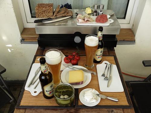 Abendbrot mit Brot von der Vollkornbäckerei 'Brotgarten'