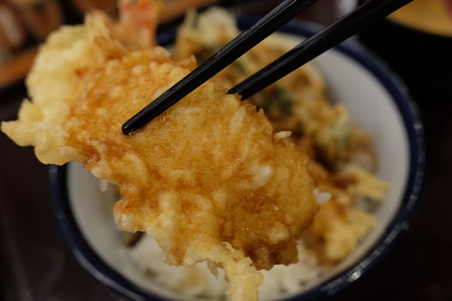 """thank you"" tendon tempra rice bowl"