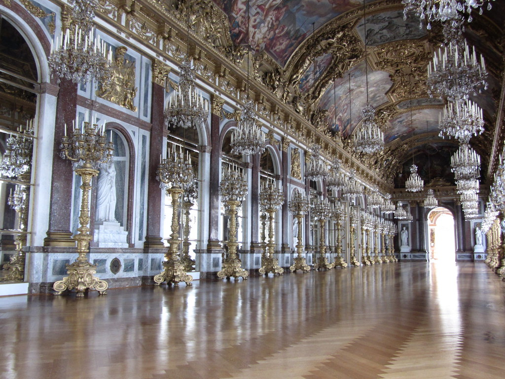 Herrenchiemsee Great Hall of Mirrors