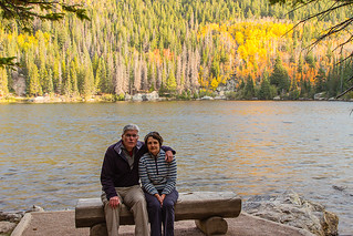 The two of us at Bear Lake | by Paul.R.Byrne