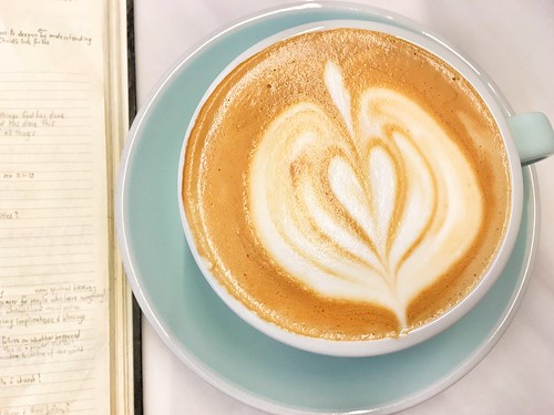 flat white, Market Lane beans, Candour Coffee, Beach Road, Singapore