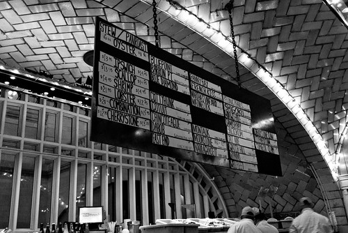 Grand Central: Oyster Bar Menu | by Kevin Church
