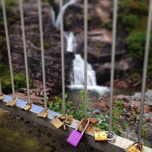 The Meeting of the Three Waters, Glen Coe, Highlands  #scenery #Scottishhighlands #scottishscenery #Scotland #lovelocks