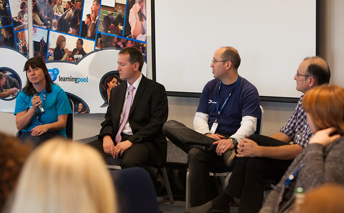 Cardiff Learning Live Panel with Deb, Paul, Sam & Donald | by LearningPool