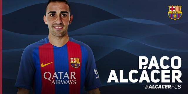 El FC Barcelona ficha a Paco Alcácer