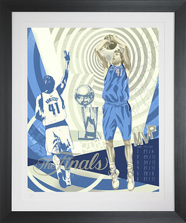 Nowitzki1_Framed | by The Two Man Game
