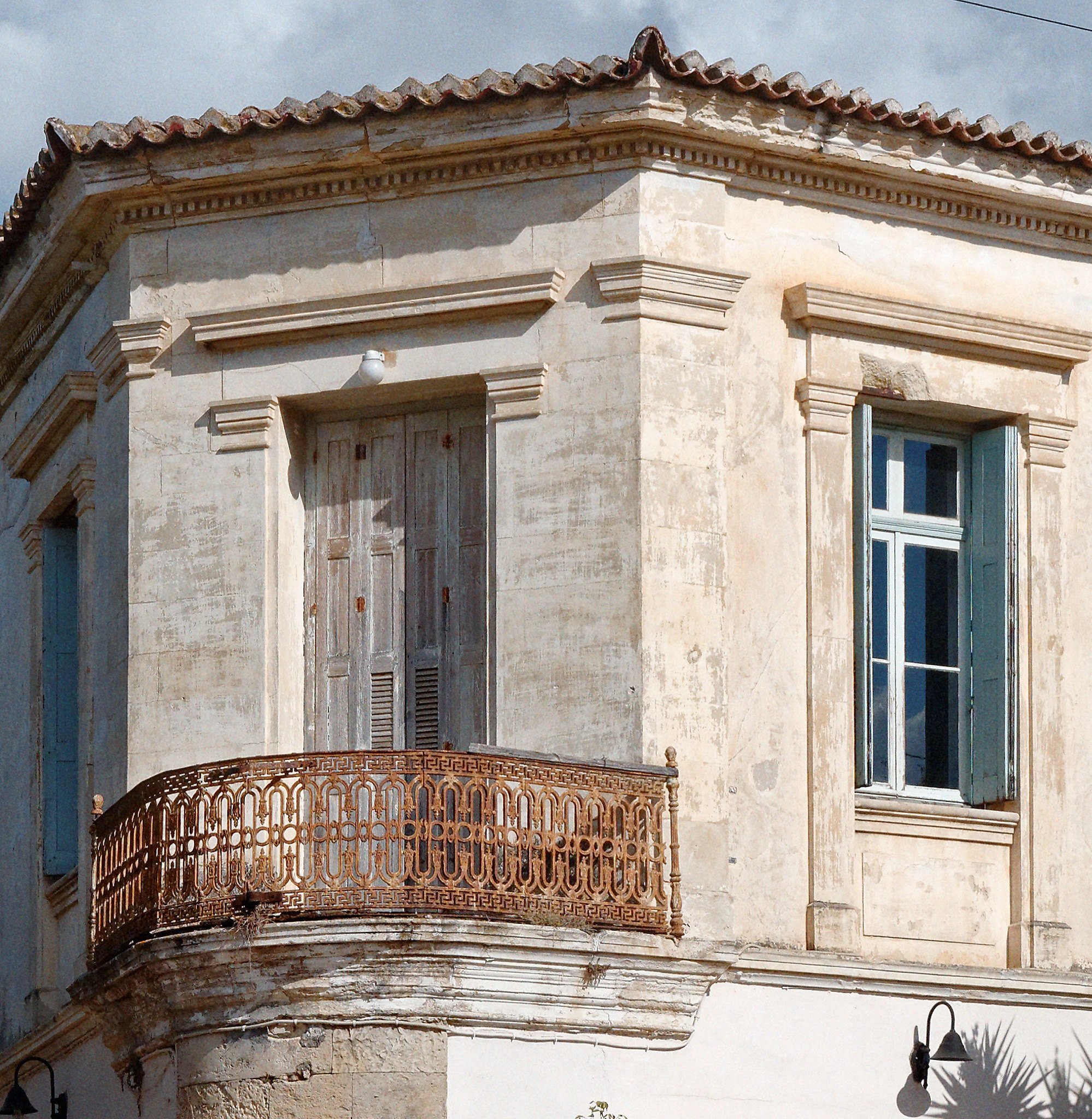 Neoclassical architecture gems at Chania