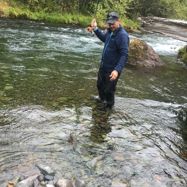 Fall fishing on the mckenzie