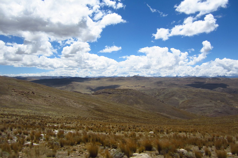 Views En Route to Tarma, Junín, Peru