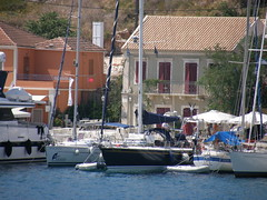 Fiskardo isola di Cefalonia - il porticciolo