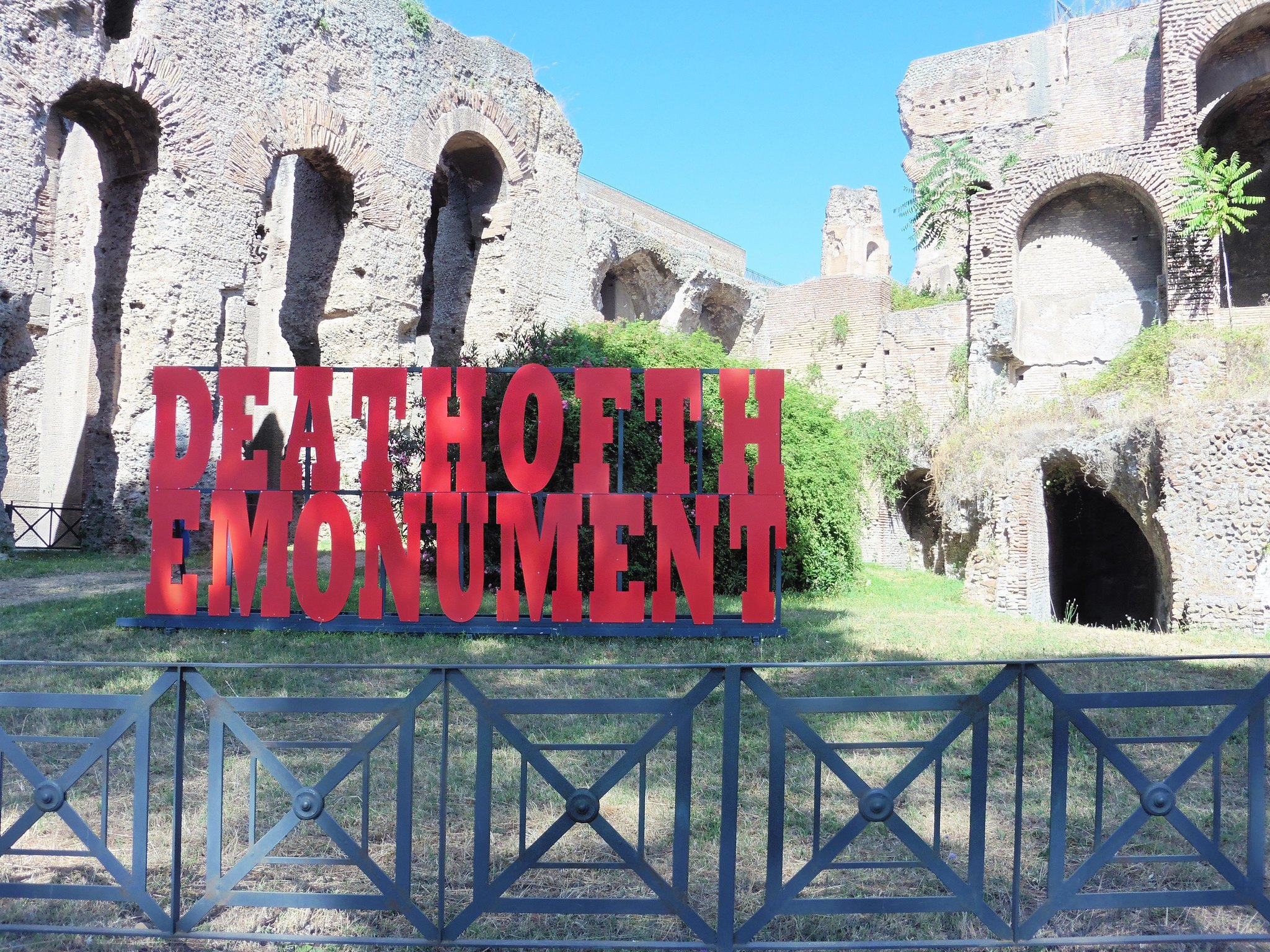 Death of the Monument - Palantine Hill