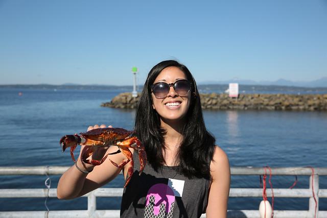 crabbing in Seattle