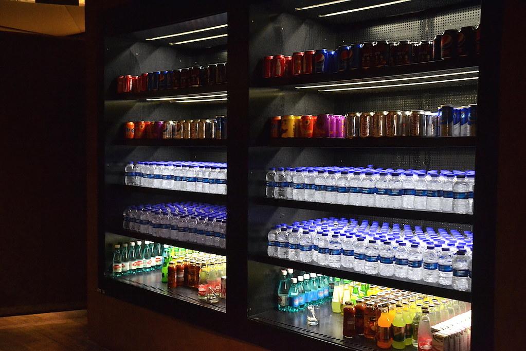 土耳其航空貴賓室飲料櫃