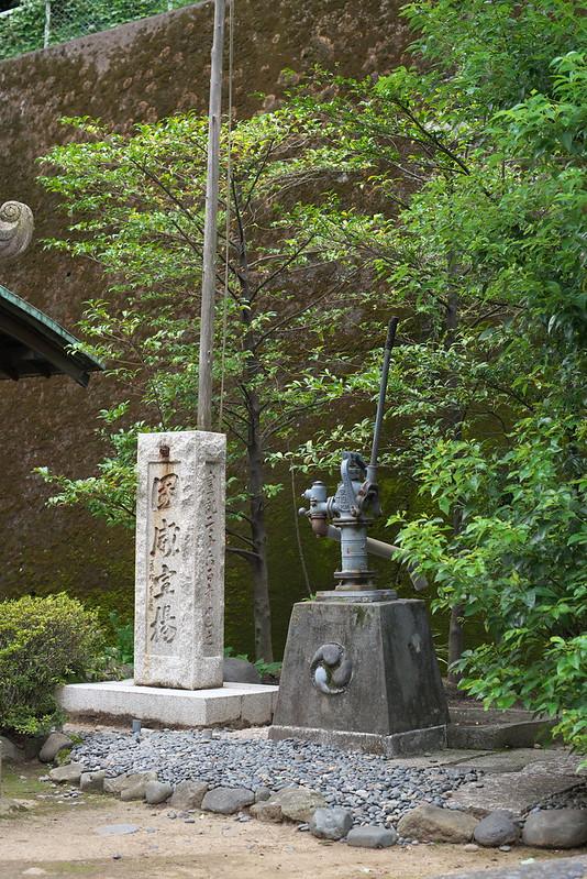 東京路地裏散歩 六本木の井戸ポンプ 2016年8月27日