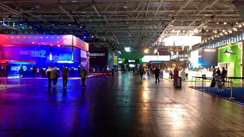 Gamescom-empty