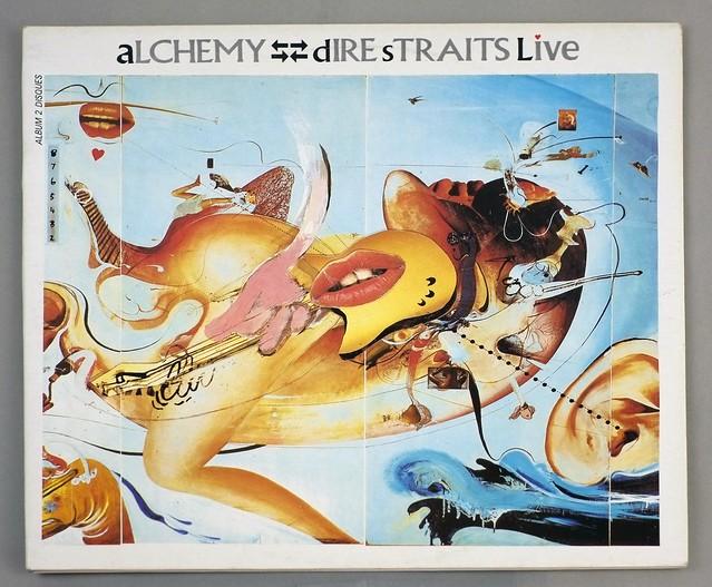 """DIRE STRAITS ALCHEMY LIVE France 2LP FOC 12"""" ALBUM VINYL"""