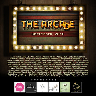 The Arcade - September 2016 Gacha Event Poster