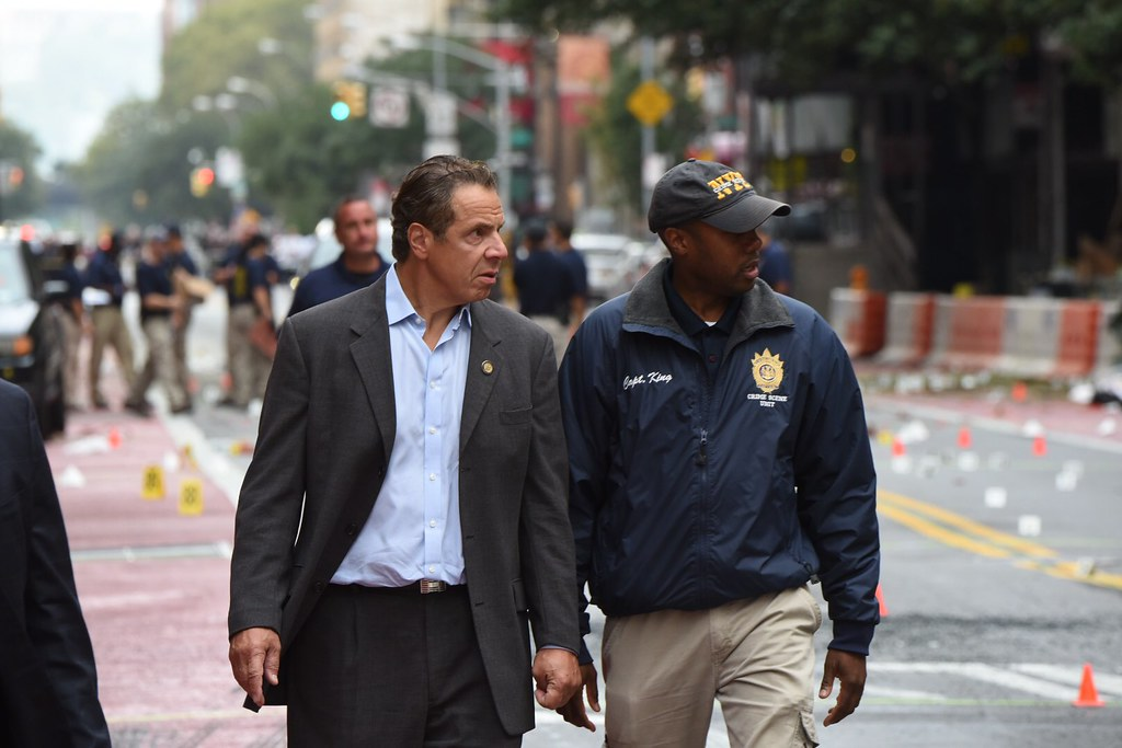 Governor Cuomo Receives a Briefing from Authorities on the Explosion in Manhattan