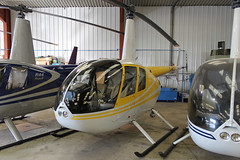 G-MISK - 1998 build Robinson R44 Astro, with Heli Air at Wellesbourne