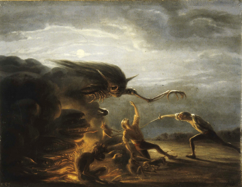 Antoine Valentin Jumel Noireterre - The Duel, 1853